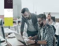 Адаптивный дизайн IT-компании по техподдержке