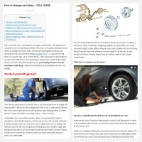 "Постинг статьи ""How to change car's tires – FULL GUIDE"""