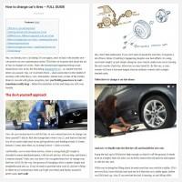 """Постинг статьи """"How to change car's tires – FULL GUIDE"""""""