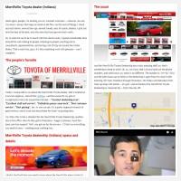 "Постинг статьи ""Merrillville Toyota dealer (Indiana)"""