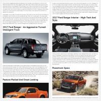 """Постинг статьи """"Ford Ranger 2017"""""""