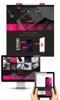 Адаптивный дизайн и разработка сайта по продаже смартфонов