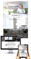 Верстка сайта по интерьеру дома Antis-studio