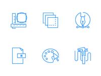 Иконка в стиле outline