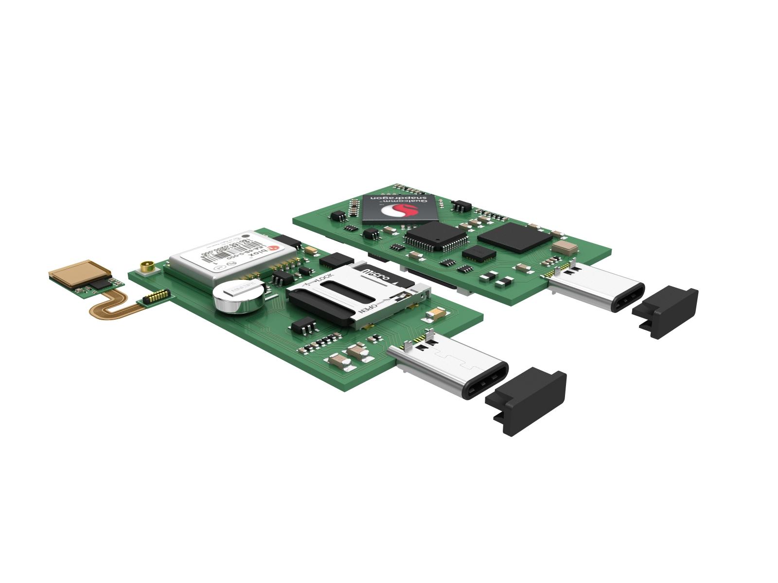 3d модель PCB для презентации
