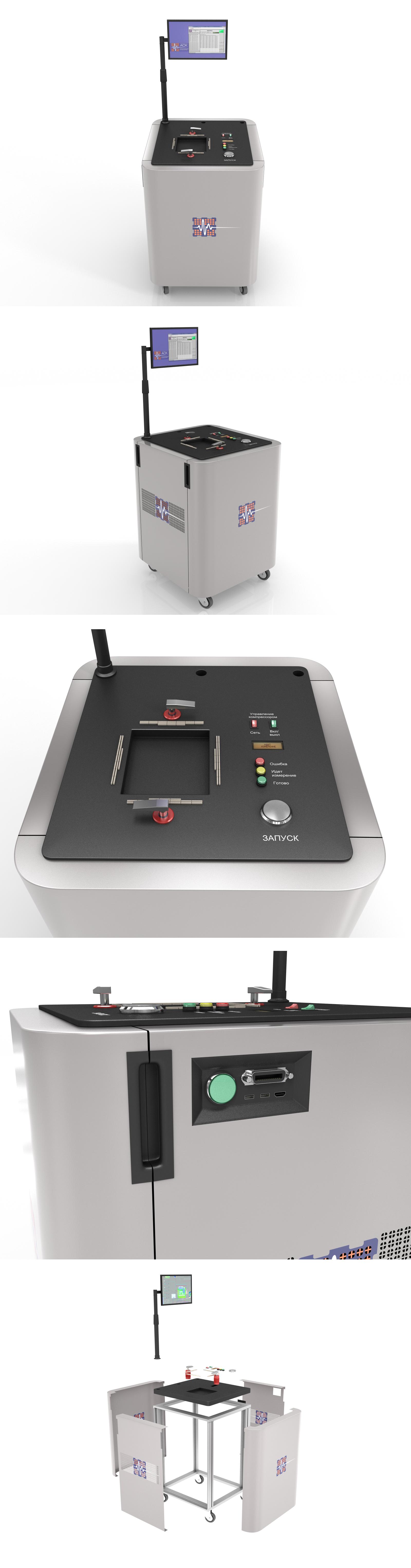 Дизайн корпуса тестера микроэлектроники