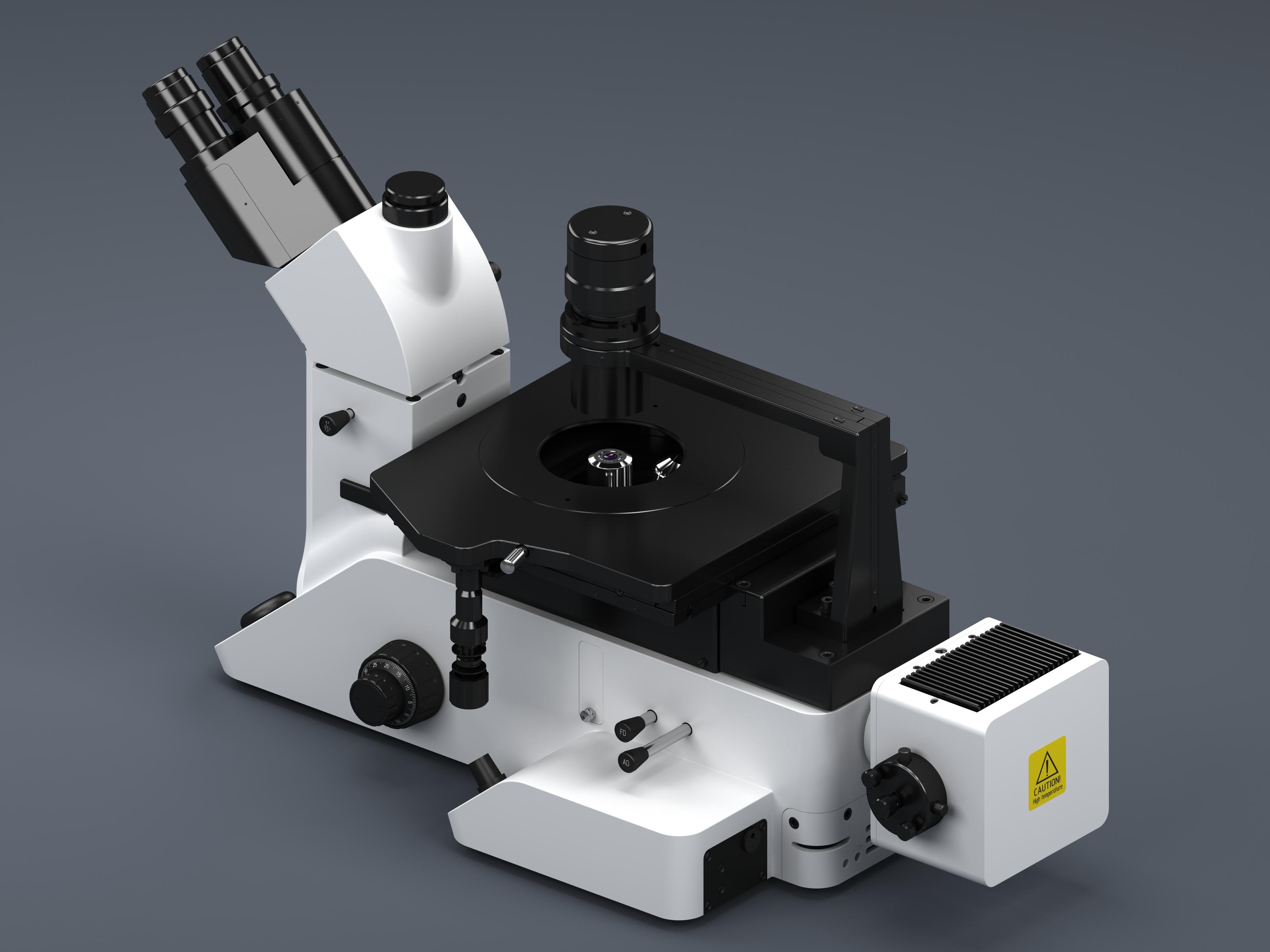 Промышленный дизайн промышленного микроскопа МИ-1