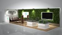 """Дизайн выставочного стенда """"Russin Garden"""""""