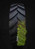 Визуализация шины для рекламного плаката