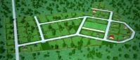Коттеджный поселок с частичной застройкой