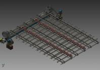 Разработка трёхмерной модели конвейера