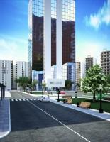 Визуализация офисного здания