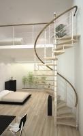 Винтовая лестница 2