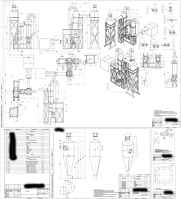 Разработка тконструкторской документации на производство сушилки сыпучего материала