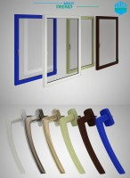 Моделирование пластиковых окон и фурнитуры для каталога, стр.1