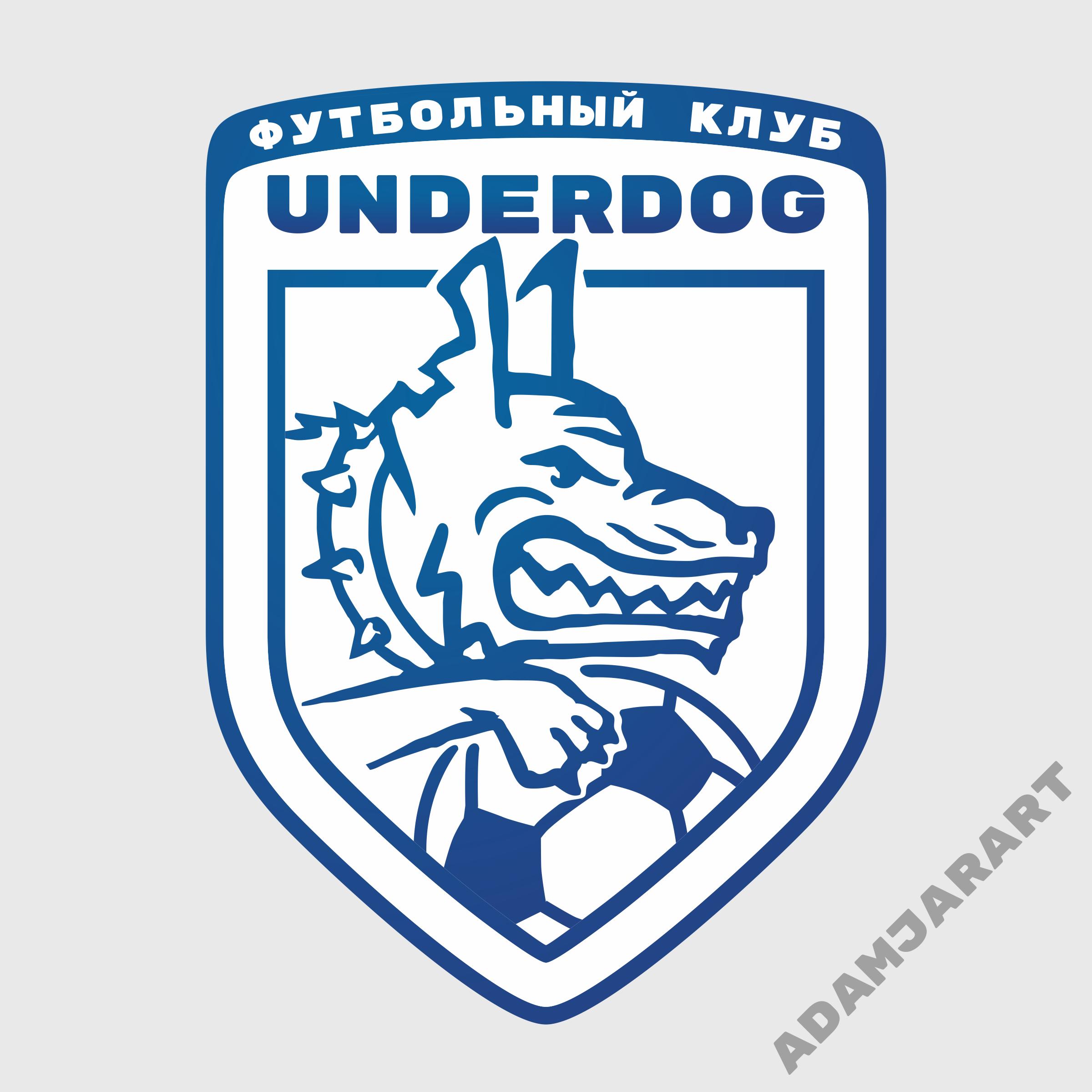 Футбольный клуб UNDERDOG - разработать фирстиль и бренд-бук фото f_1075cb496d563e56.png
