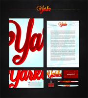 Фирменный стиль дизайн-студии Yarko