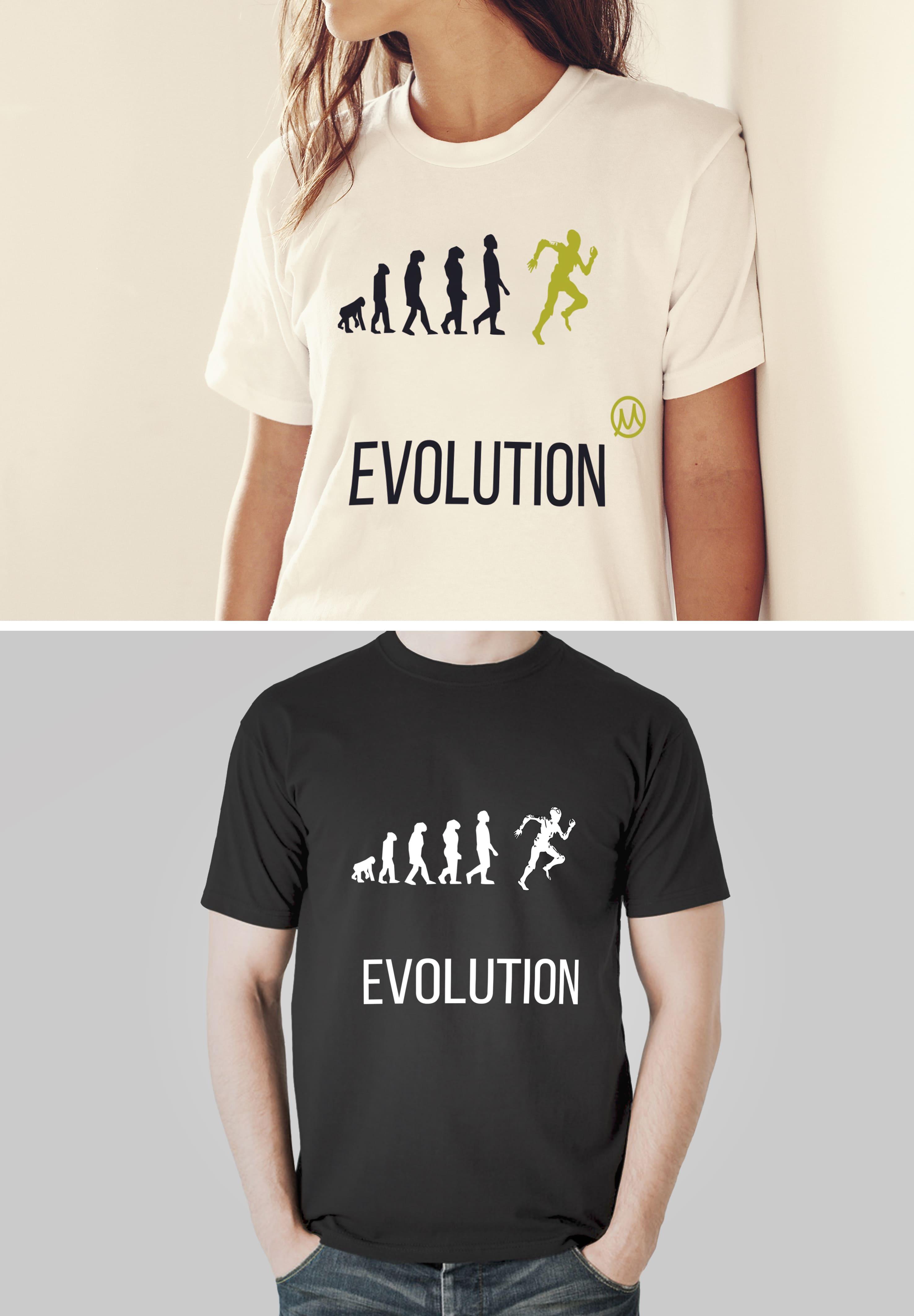 Нарисовать принты на футболки для компании Моторика фото f_18960a63d9743362.jpg
