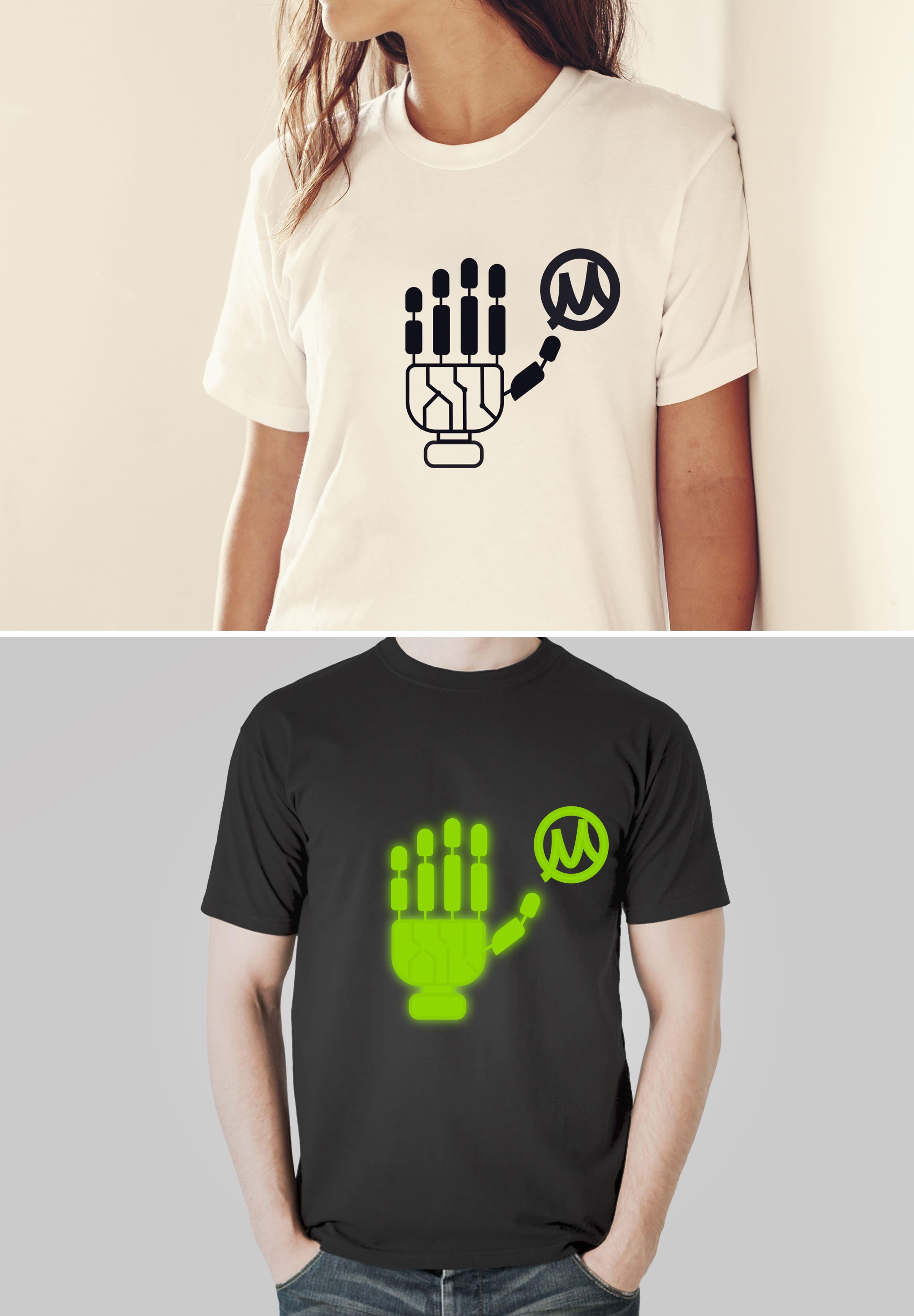 Нарисовать принты на футболки для компании Моторика фото f_60160a63d847383d.jpg