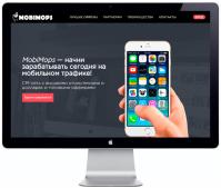 Продвижение мобильной СРА-сети Mobimops