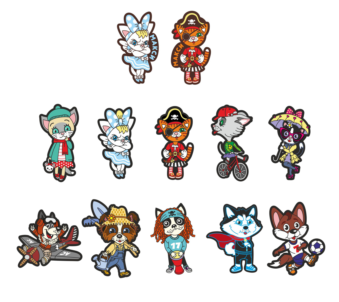 Коллекция 2D персонажей животных. фото f_3435978fdc85534c.jpg