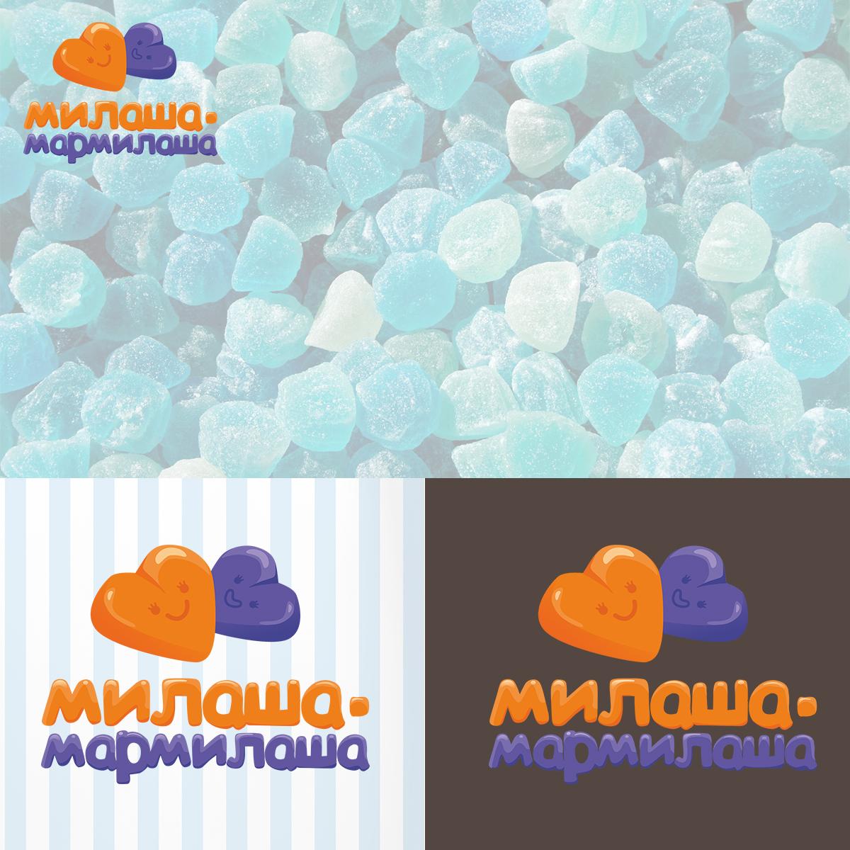 """Логотип для товарного знака """"Милаша-Мармилаша"""" фото f_397587650b0f0af8.jpg"""