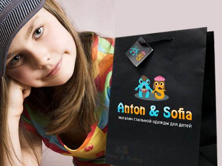 Логотип и вывеска для магазина детской одежды фото f_4c8486c72d8d6.jpg