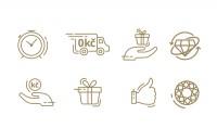 Иконки для ювелирного сервиса