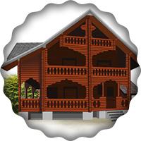 Отрисовка в векторе Дом