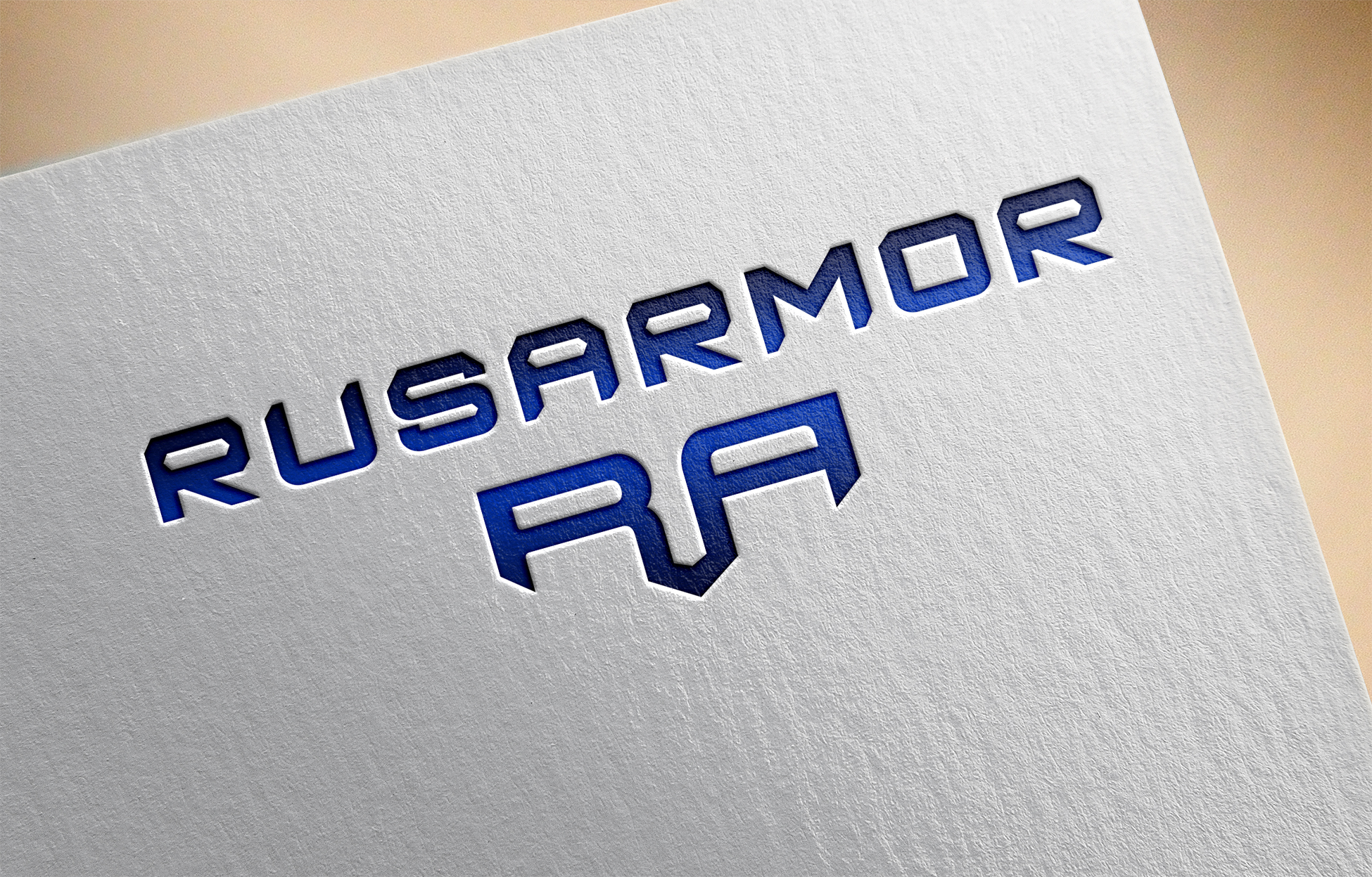 Разработка логотипа технологического стартапа РУСАРМОР фото f_0395a0f42ace5152.jpg