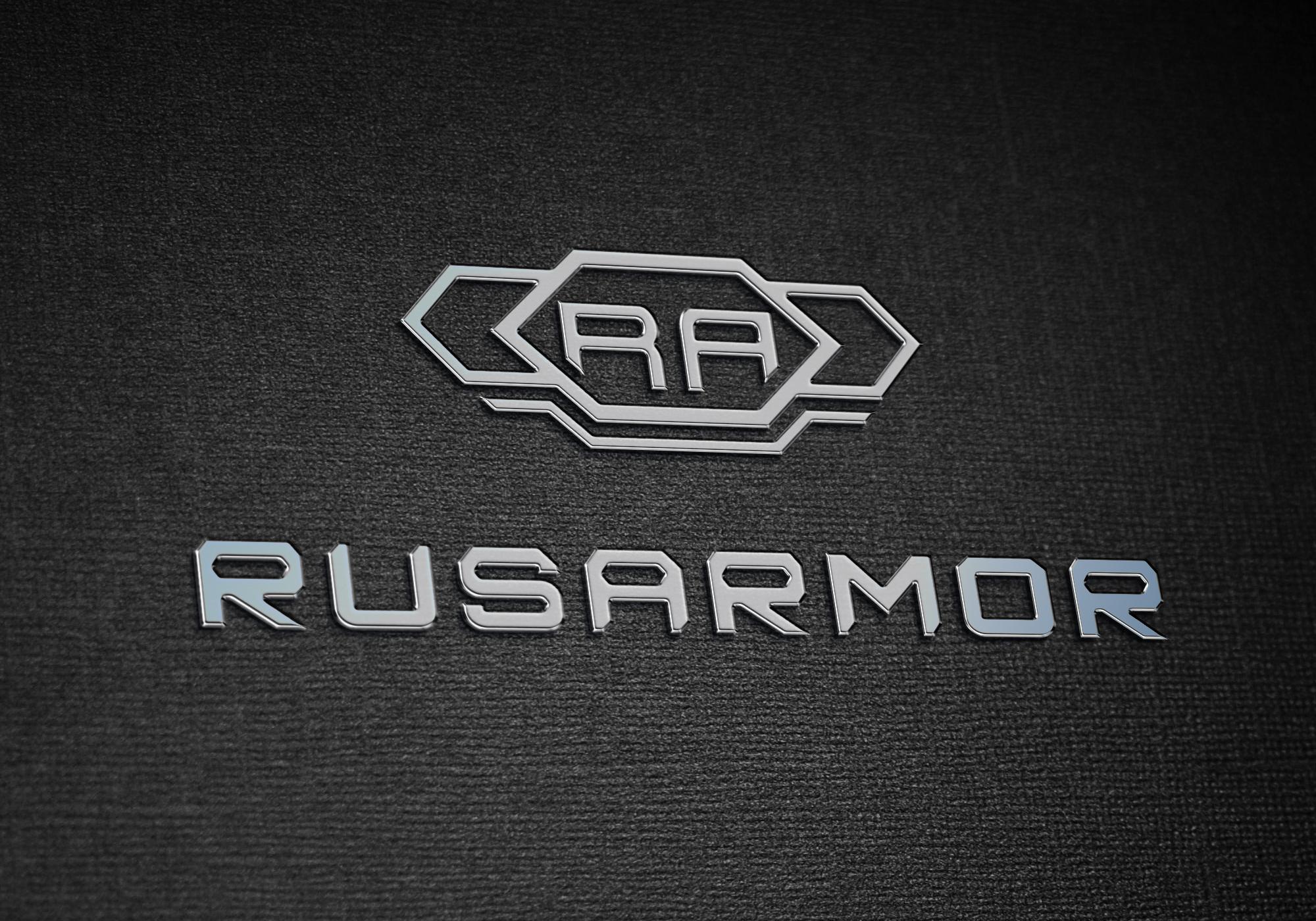 Разработка логотипа технологического стартапа РУСАРМОР фото f_9225a0f3fbdb8d66.jpg