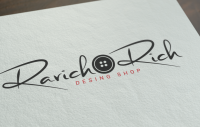 """Логотип """"RR Desing Shop """""""