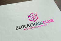 "логотип - ""Blockchainclub"""