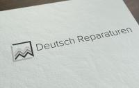 """Логотип """"deutsch reparaturen"""""""