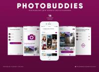 """Дизайн приложения """"PhotoBuddies"""""""