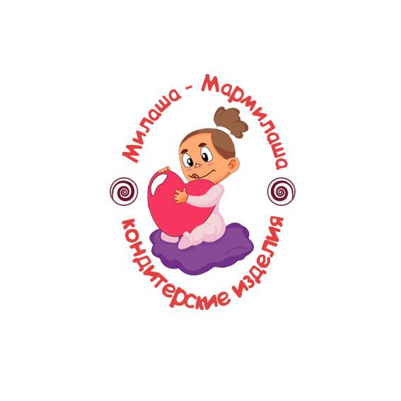 """Логотип для товарного знака """"Милаша-Мармилаша"""" фото f_649588218eb614fd.jpg"""