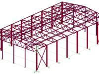 Расчет и проектирование металлических каркасов зданий и сооружений (за тонну)