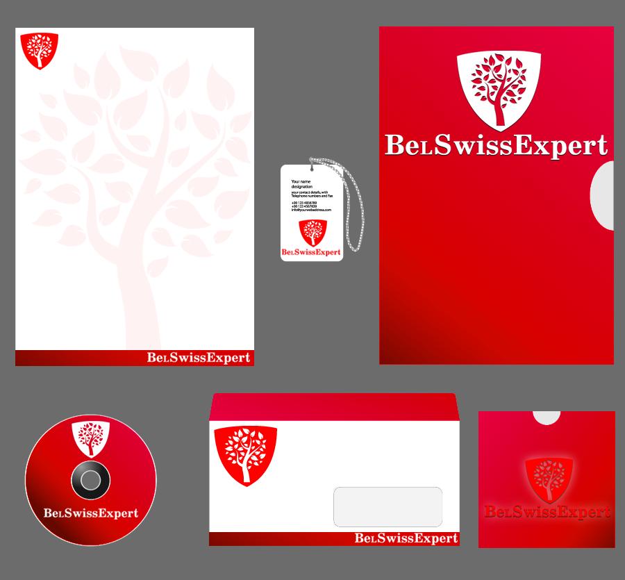 BeLSwissExpert (лого +фирменный стиль)