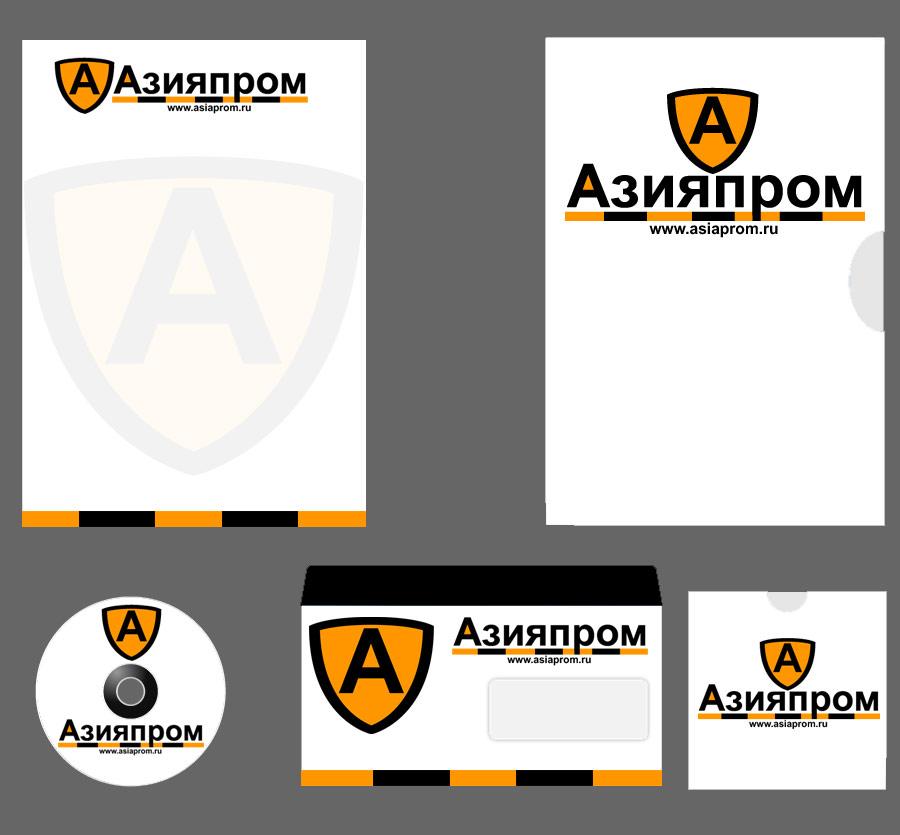 АЗИЯПРОМ (лого+фирстиль. участие в конкурсе)