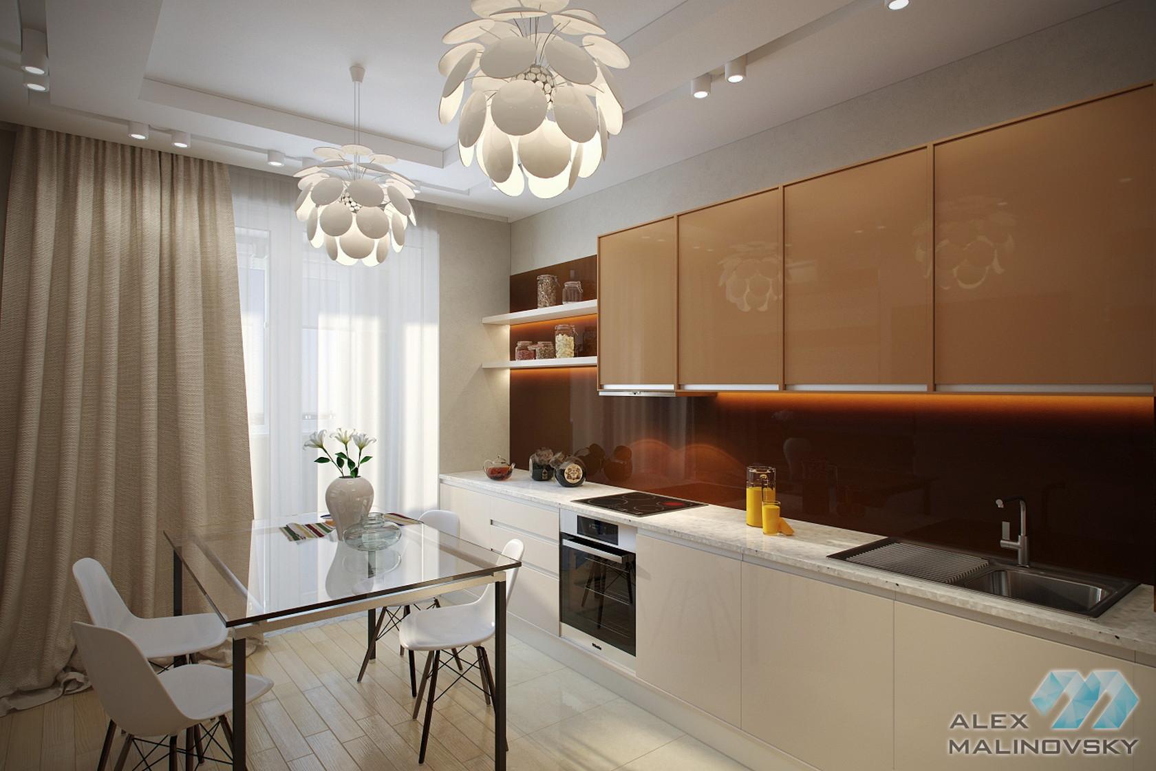 Кухня, 2х комнатная квартира, Фрязино