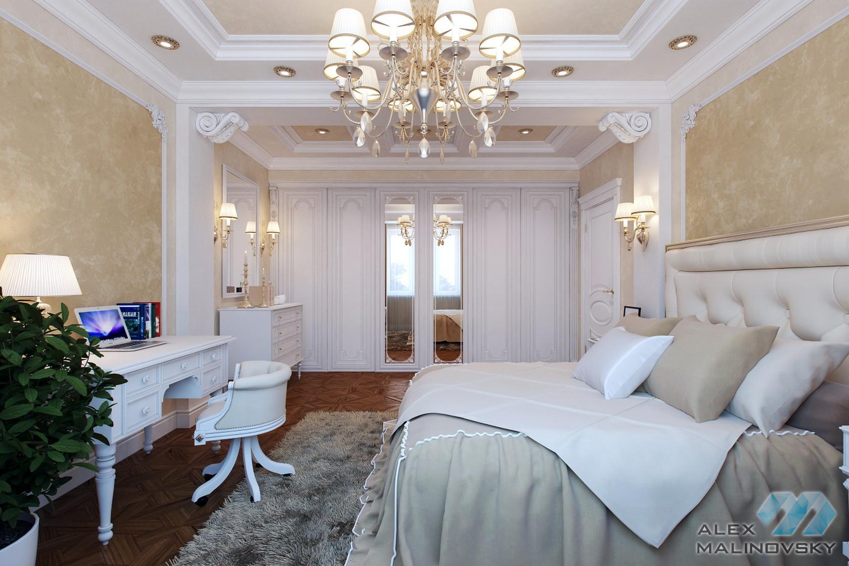 Коттедж в Коврове, гостевая спальня