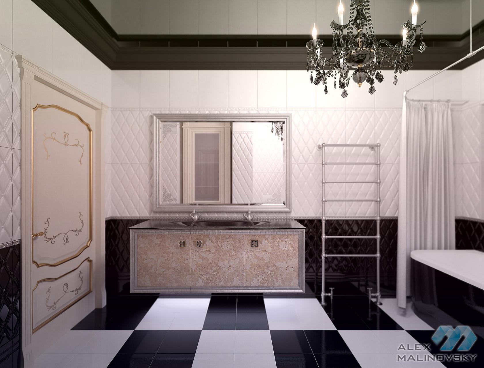 Санузел 1, 4х комнатная квартира, ЖК Парус, СПб