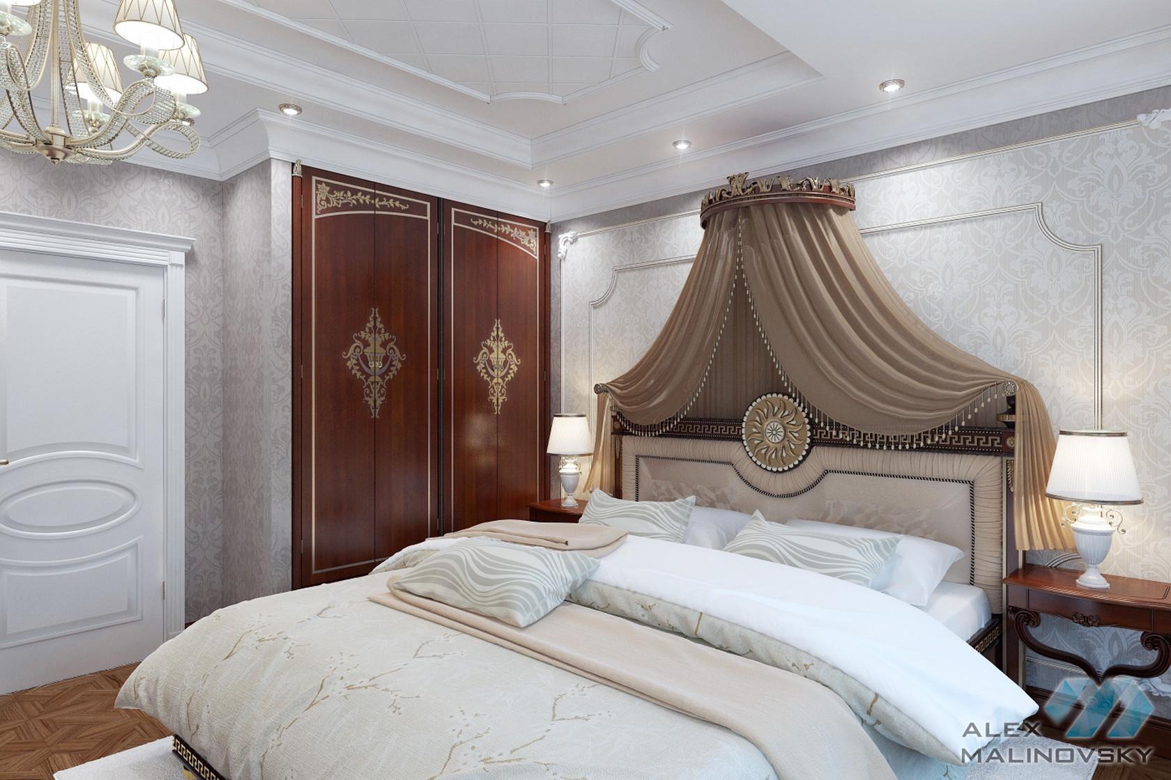 Коттедж в Коврове, спальня