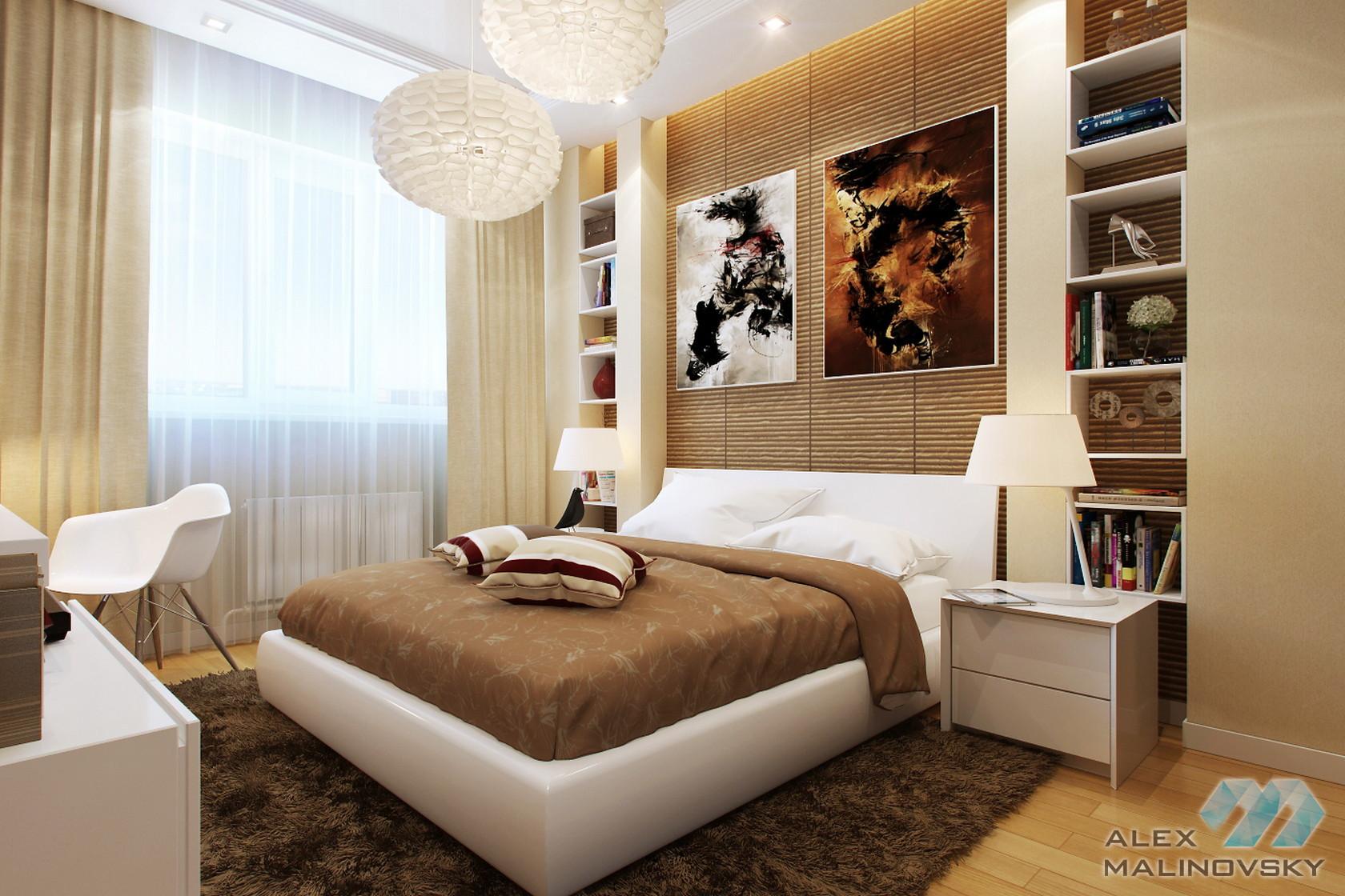 Спальня, 2х комнатная квартира, Фрязино