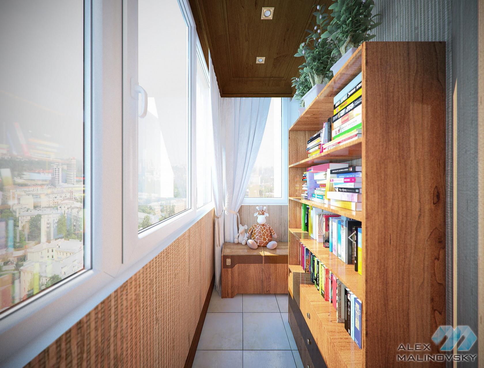 Балкон 2, 3х комнатная квартира, ЖК Доминанта, СПб