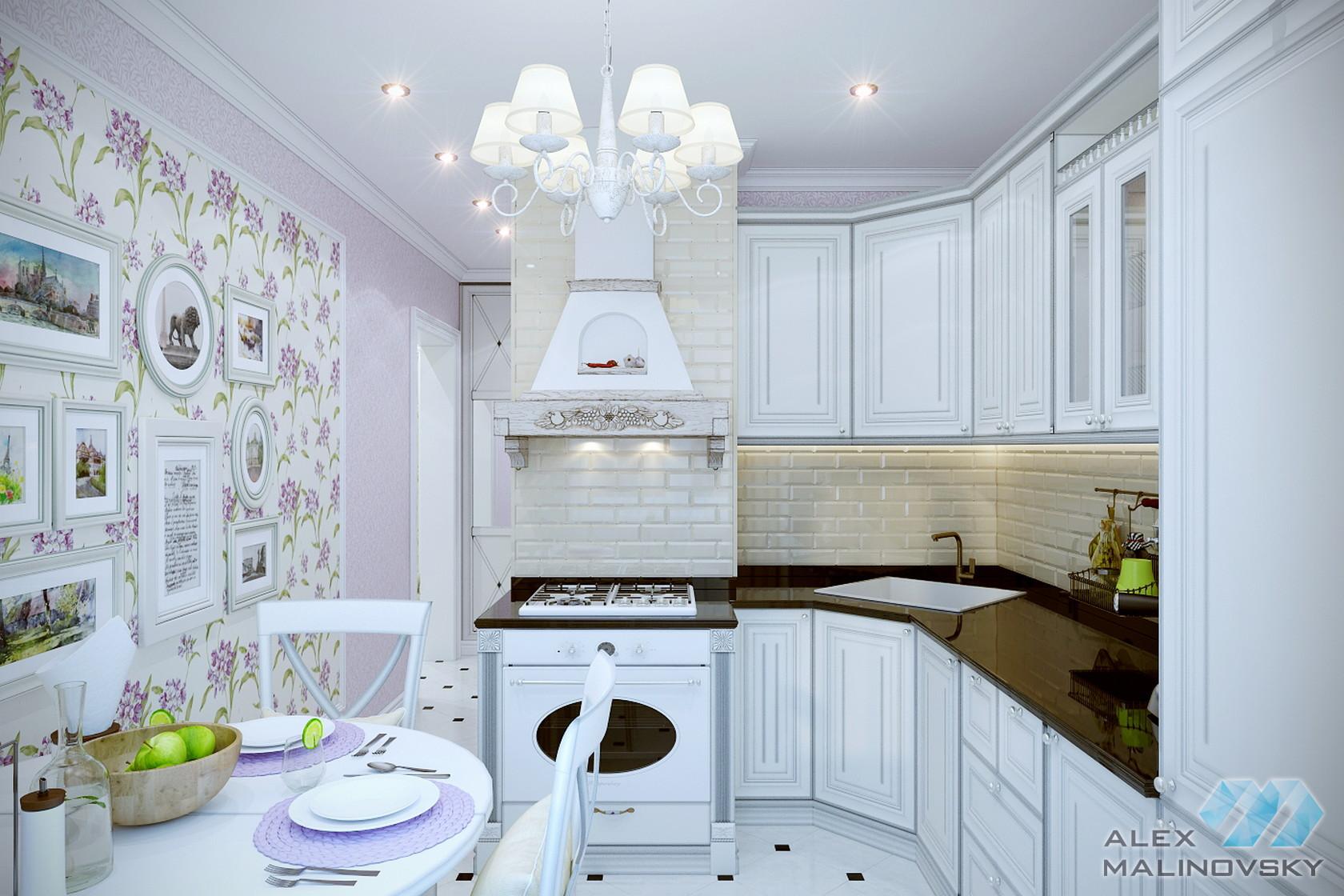 Кухня, 2х комнатная квартира, Медведково, Москва