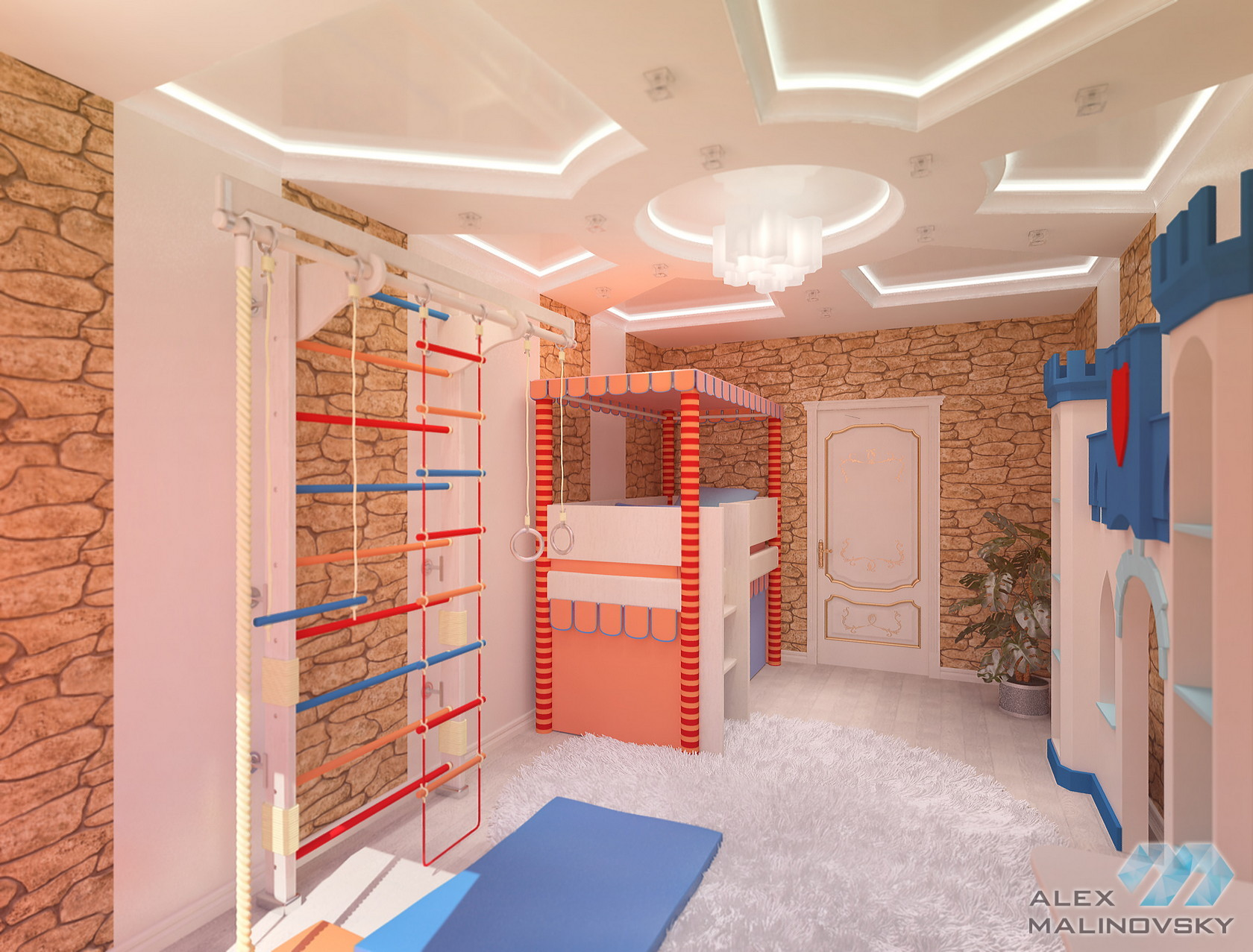 Детская 2, 4х комнатная квартира, ЖК Парус, СПб