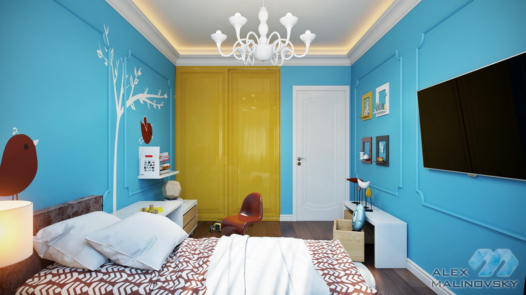 Детская (вариант), 3х комнатная квартира, ул Генерала Белобородова, Москва