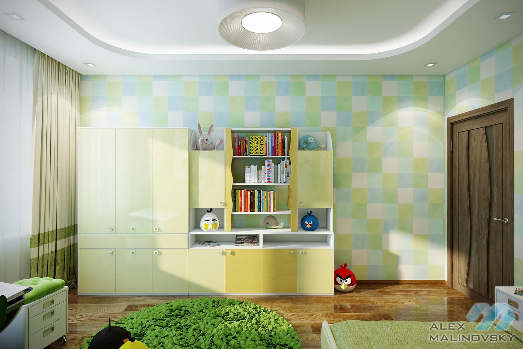Детская, 2х комнатная квартира, Московская область