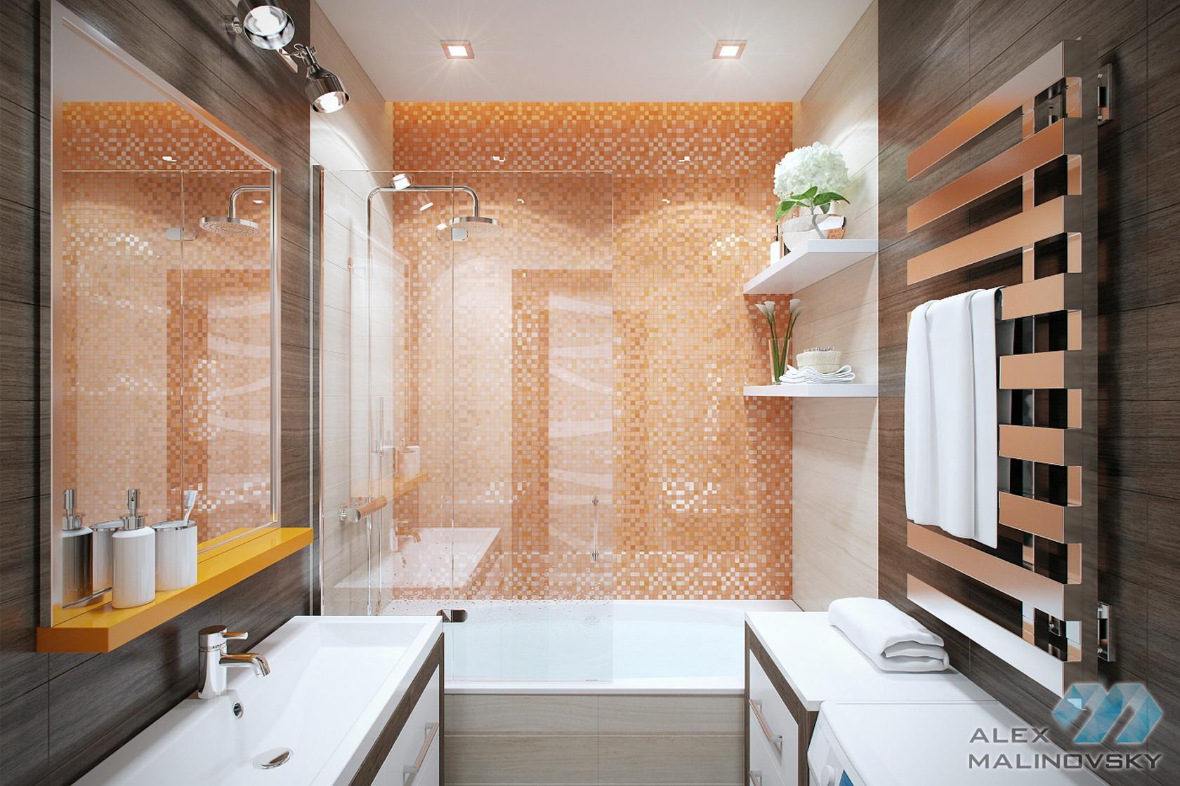Ванная, 2х комнатная квартира, Фрязино